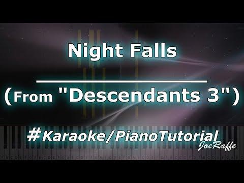 Night Falls From Descendants 3 KaraokePianoTutorialInstrumental