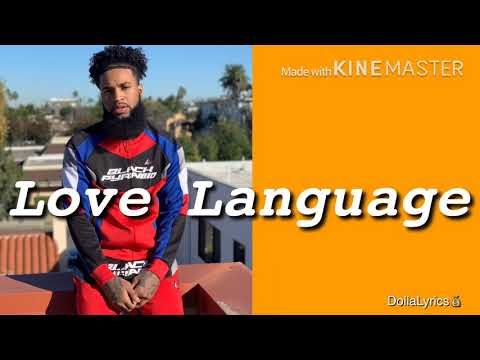 Chris Sails - Love Language (LYRICS)