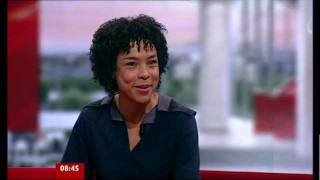 Sophie Okonedo on BBC Breakfast 251011