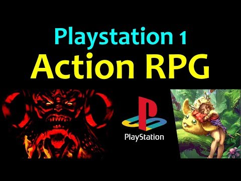 10 Awesome PS1 Action RPG Games ... (Gameplay)