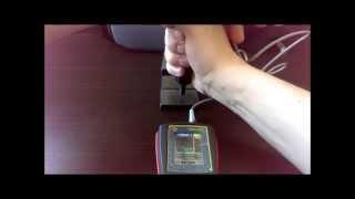 ТКМ 459С твердомер металлов ультразвуковой UCI метод(Демонстрация комплектации и работы с ультразвуковым твердомером на мерах твёрдости металла., 2014-05-25T16:21:47.000Z)