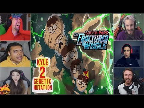 Gamers Reactions to Kyle 2 Genetic Mutation | South Park™: The Fractured But Whole