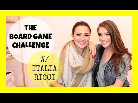 THE BOARD GAME CHALLENGE W ITALIA RICCI  Blair Fowler
