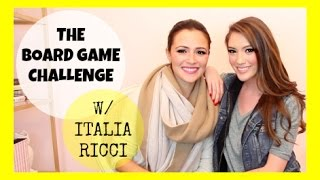 THE BOARD GAME CHALLENGE W/ ITALIA RICCI | Blair Fowler Thumbnail