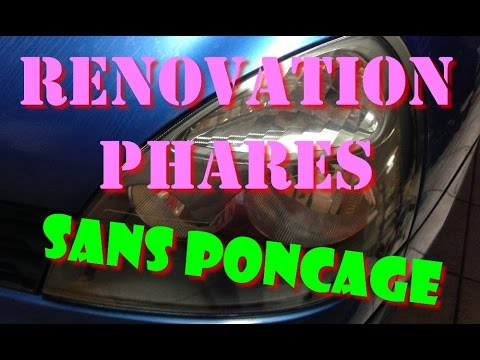 tutoriel r novation phare auto en polycarbonate sans. Black Bedroom Furniture Sets. Home Design Ideas