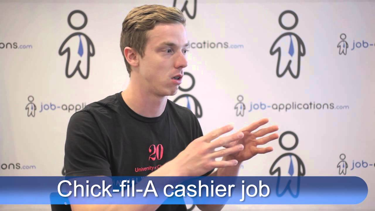 Chick Fil A Interview Cashier Youtube