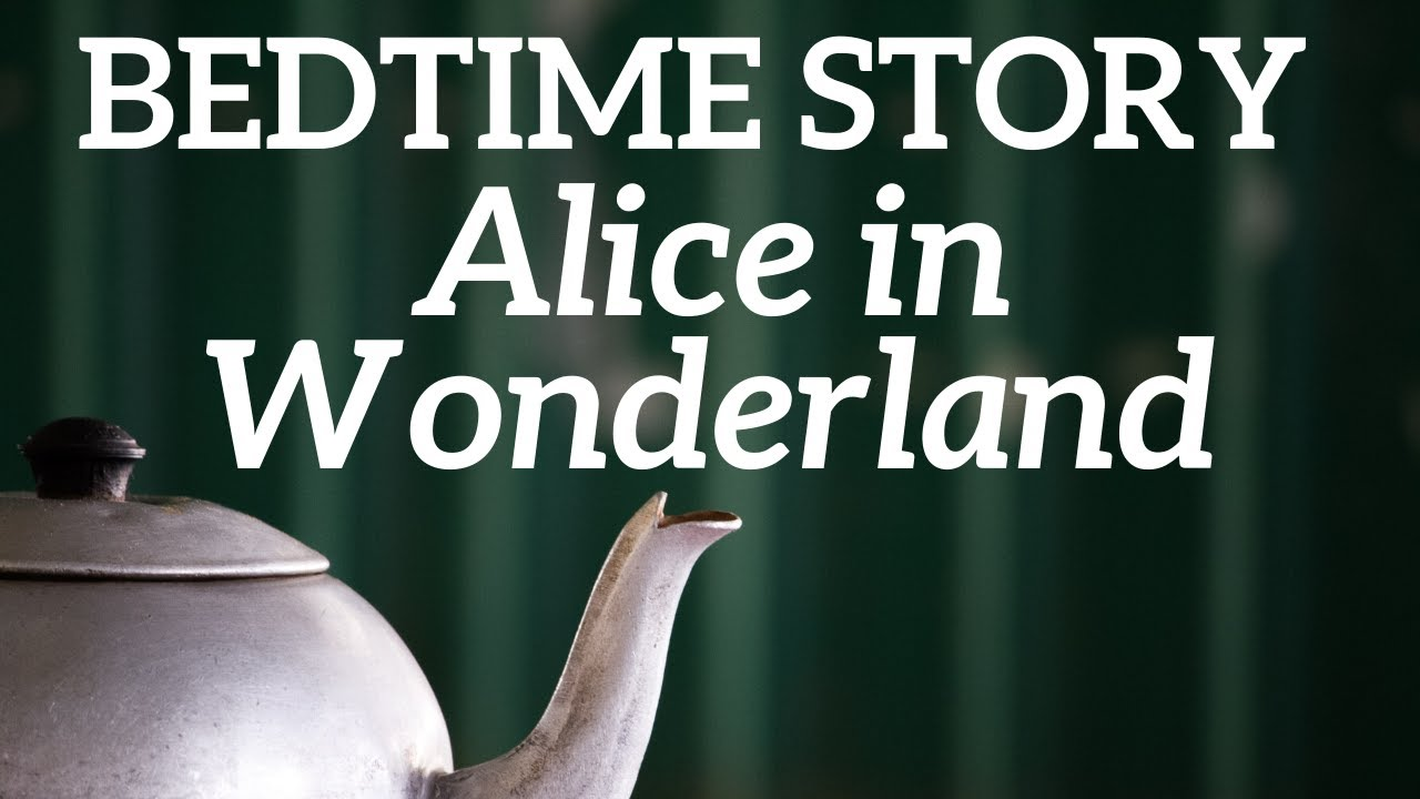 Bedtime Story for Grown Ups 🎩 Alice In Wonderland Chapter 7 ☕ The Mad Hatter's Tea Party 🍰🐁