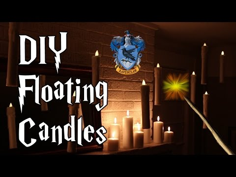 DIY Hogwarts Floating Candles, Witch Crafting #3 (CONTEST CLOSED)