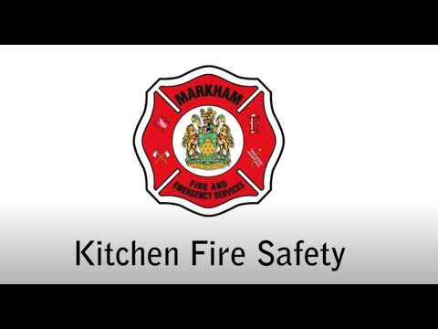 Safety Tips to Prevent a Kitchen Fire - English