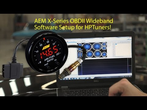 Tested: AEM's new X-Series OBDII Wideband w/HP Tuners on