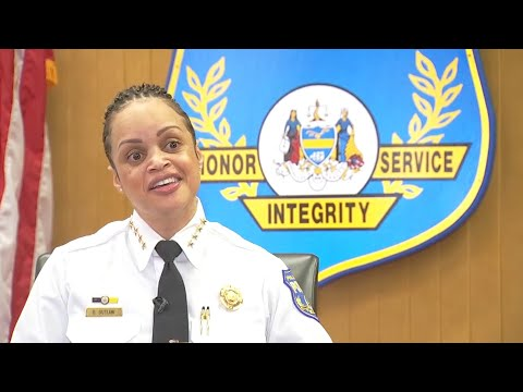 Danielle Outlaw On Crime-Fighting & Being The Boss As New Police Commissioner   NBC10 Philadelphia