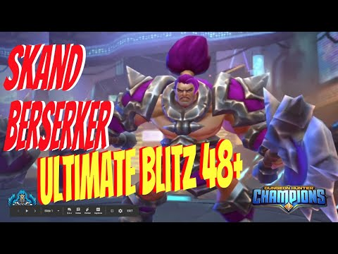 Dungeon Hunter Champions:  Dark Skand Berserker Scavenger | Ultimate Blitz Floors 48+