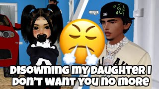 DISOWNING MY Daughter ON IMVU TELLING HER I Dont Want Her Nomore  *SHE WASN'T HAPPY*