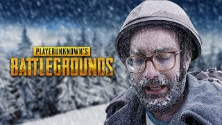 Fighting in a freezing blizzard in snow map Vikendi - Blizzard