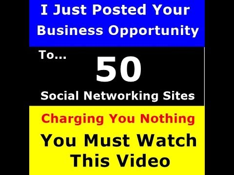 Reply If You Want Me To Post Your Biz Op To 50 Of My Social Networking Sites   NO COST