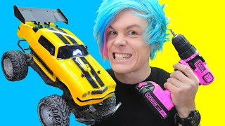 Trying Viral TikTok Life Hacks to see if it works! RC TOY CAR HACK!