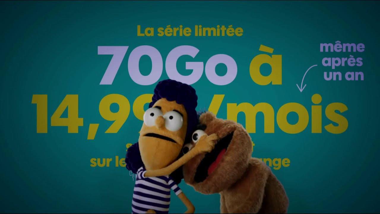 """Musique de la pub Sosh forfait mobile – Cool """"série limitée 70 Go""""  2021"""