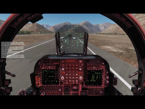 DCS 2.5 Exploring PERSIAN GULF MAP in harriers