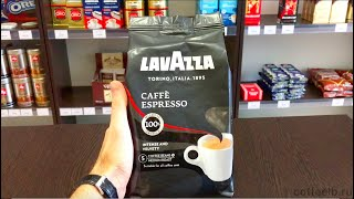 Обзор зернового кофе Lavazza Espresso
