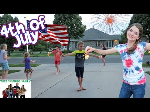 THAT YOUTUB3 FAMILY 4TH OF JULY CELEBRATION / That YouTub3 Family