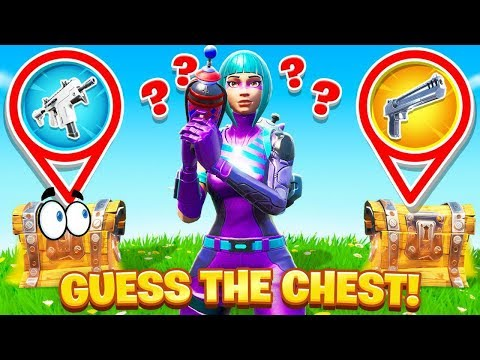 GUESS The FAKE CHEST (Fortnite)