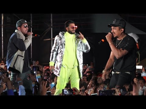 Ranveer Singh, Divine and Naezy Live Performance | Gully Boy Music Album Launch