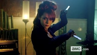 INTO THE BADLANDS Clip - (2015) Emily Beecham, AMC HD