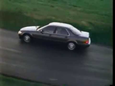 Acura Legend Commercial YouTube - Acura legend 1991