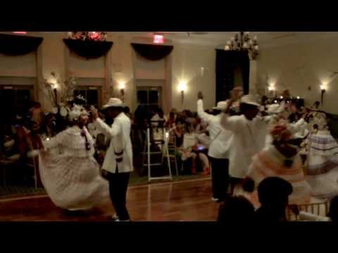 Panamanian Tipico Dance performed at Charisma and Chareid's Wedding