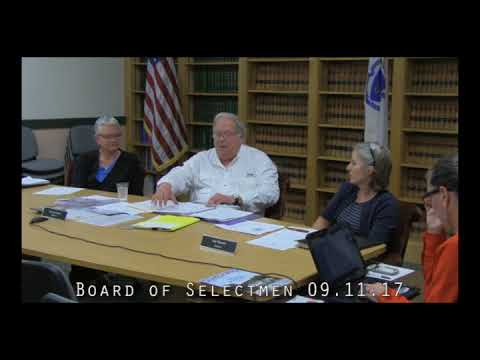 Board of Selectmen 09.11.17