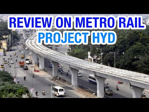Hyderabad Metro Rail Project Review - Janam Manam | HMTV
