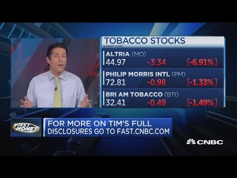 Wall Street getting skeptical of tobacco stocks