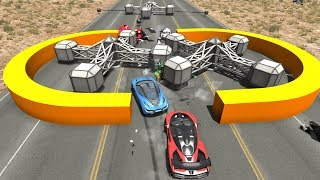 Gear Style Car Chewer Against Real Car Mods - BeamNG.Drive