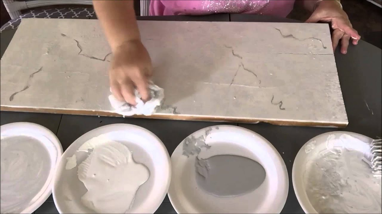 How To Paint Faux Carrera Marble~Super Easy!   YouTube