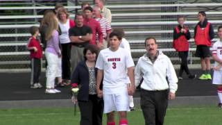2013 Mills Godwin High School Girls and Boys Soccer Senior Night