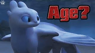 How Old is the Light Fury? How to train your Dragon: The Hidden World