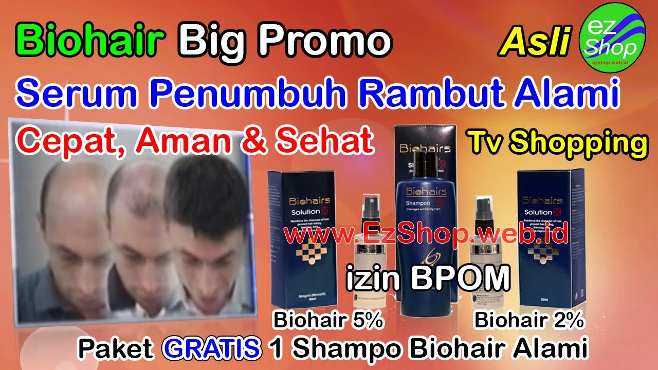 Bio Hair Biohair Solution Hairs Ez Shop Tv Shopping Youtube Penumbuh Rambut Alkatel