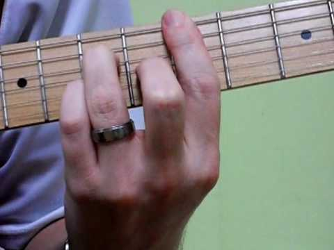Dmaj7 Barre Chord Strum - YouTube