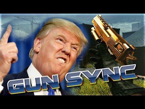 TRUMP GUN SYNC! (Bigger Better Stronger)