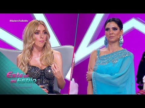 ¡Espectacular! Lucía presentó un gran vestido hindu. | Gala 9 | Este Es Mi Estilo
