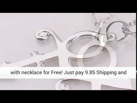 Prince Symbol Pendant With Necklace Youtube