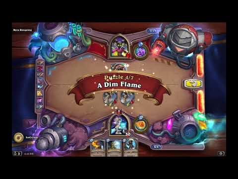 Hearthstone Boomsday Project Puzzles - Lethal - Myra Rotspring