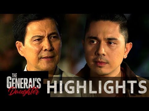 Tiago plots his plans against Rhian with Franco   The General's Daughter