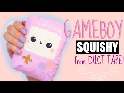 DIY DUCT TAPE SQUISHY | How to make a squishy without foam #7