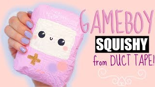 DIY DUCT TAPE SQUISHY   How to make a squishy without foam #7