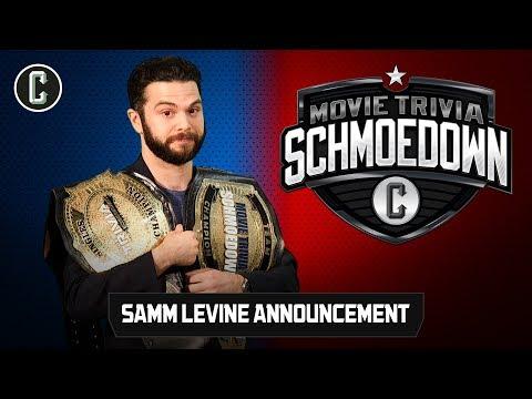 Samm Levine Special Announcement  Movie Trivia Schmoedown