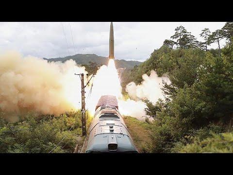 شاهد | كوريا الشمالية تطلق صواريخ بالستية من قطار متنقل …  - نشر قبل 15 دقيقة