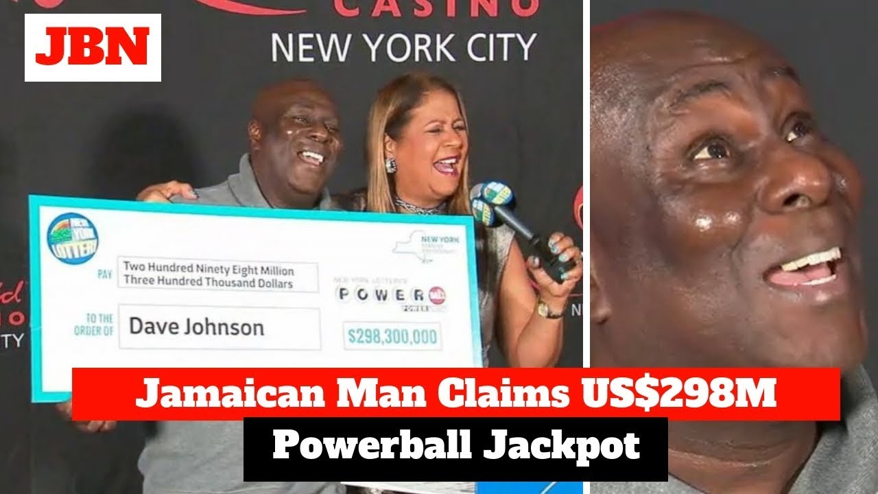 Jamaican Man Claims US$298M Powerball Jackpot
