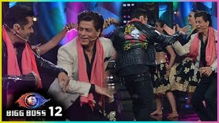 Shah Rukh Khan And Salman Khan Dostana On Bigg Boss Season 12 | Zero