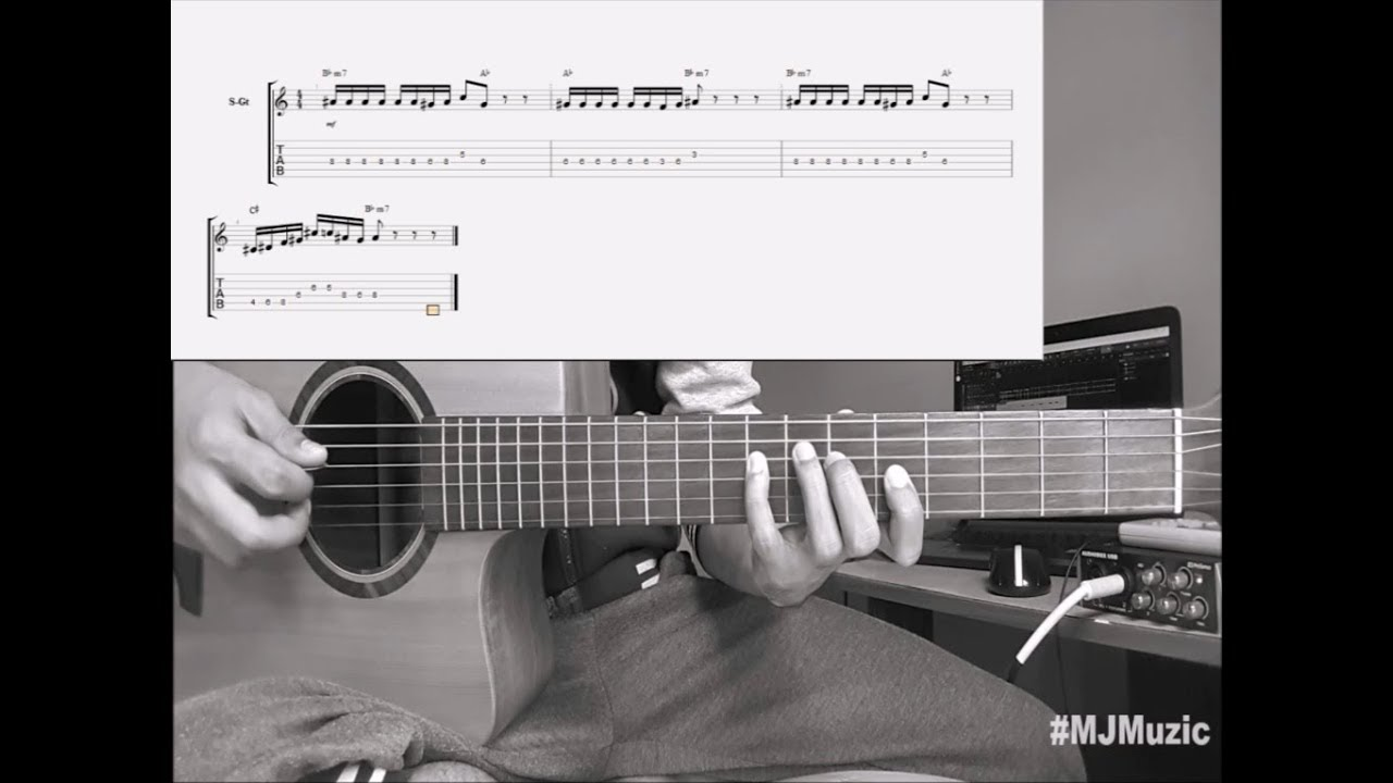 The Way I Am Charlie Puth Guitar Chords Tutorial Mj Youtube